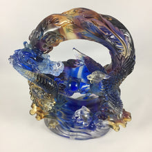 Load image into Gallery viewer, Amore Jewell Liuli Crystal Glass - Dragon and Phoenix in good  fate ~ 龍鳳好緣