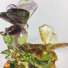 Load image into Gallery viewer, Amore Jewell Liuli Crystal Glass - Butterfly Pair ~ 蝶蝶戀