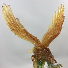 Load image into Gallery viewer, Amore Jewell Liuli Crystal Glass - Flying Eagle ~ 大展鴻圖