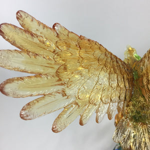 Amore Jewell Liuli Crystal Glass - Flying Eagle ~ 大展鴻圖