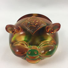 Load image into Gallery viewer, Amore Jewell Liuli Crystal Glass - Lucky Pig business card holder ~ 豬福名片夾
