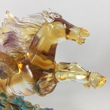 Load image into Gallery viewer, Amore Jewell Liuli Crystal Glass - Flying Horse ~ 飛馬