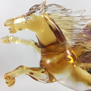 Amore Jewell Liuli Crystal Glass - Flying Horse ~ 飛馬