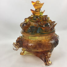 Load image into Gallery viewer, Amore Jewell Liuli Crystal Glass - Dragon Treasure Bowl ~ 龍聚寶盆