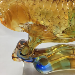 Amore Jewell Liuli Crystal  Glass - Arowana (Dragon) Fish ~ 金龍魚