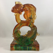 Load image into Gallery viewer, Amore Jewell Liuli Crystal Glass - Goldfish in the shape of 8 ~ 八字魚