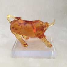 Load image into Gallery viewer, Amore Jewell Liuli Crystal  Glass - Pioneer Ox with Base ~ 開拓牛(底座)