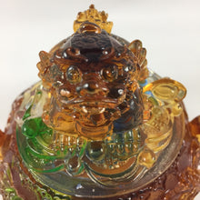 Load image into Gallery viewer, Amore Jewell Liuli Crystal Glass - Pixiu (Brave Troop) Treasure Bowl ~ 貔貅聚寶盆