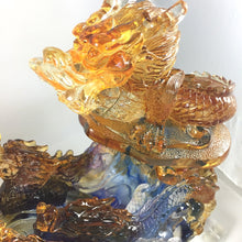 Load image into Gallery viewer, Amore Jewell Liuli Crystal Glass - Nine Dragons Ru-Yi (Large) 九龍如意