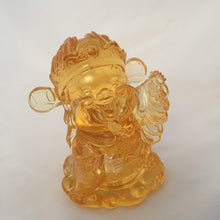 Load image into Gallery viewer, Gods (Fortune) of Five-Way Wealth in amber color 5pcs/set - 五路財神