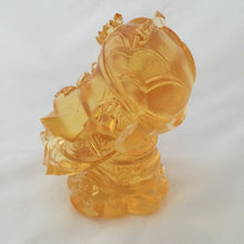 Load image into Gallery viewer, Amore Jewell Liuli Crystal Glass - Ingot God - Gods (Fortune) of Five-Way Wealth in amber color - 五路財神-元寶