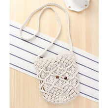 Load image into Gallery viewer, Fashion Ladies' bag - Ladies Mini Crossbody single shoulder Handmade Bag in White color