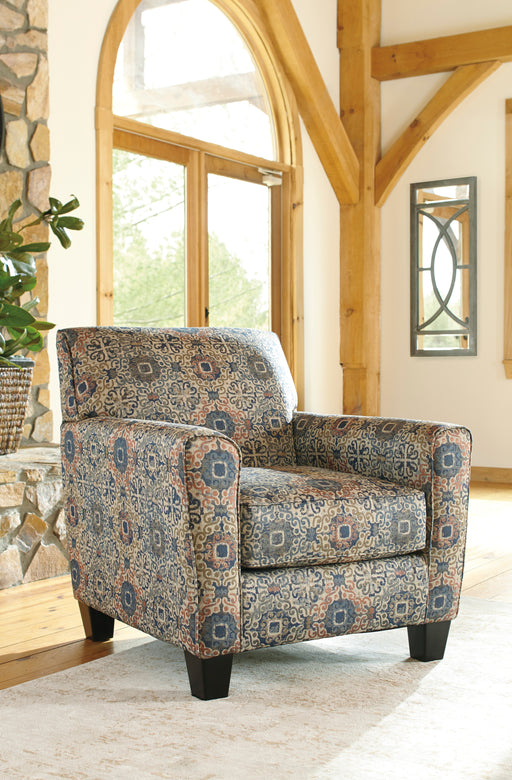 Ashley Belcampo Fabric Patterned Traditional Accent Chair