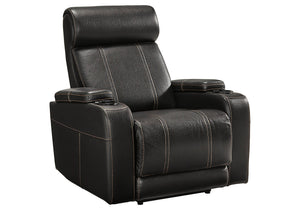 Signature Design Boyband Fabric Solid Contemporary Power Recliner