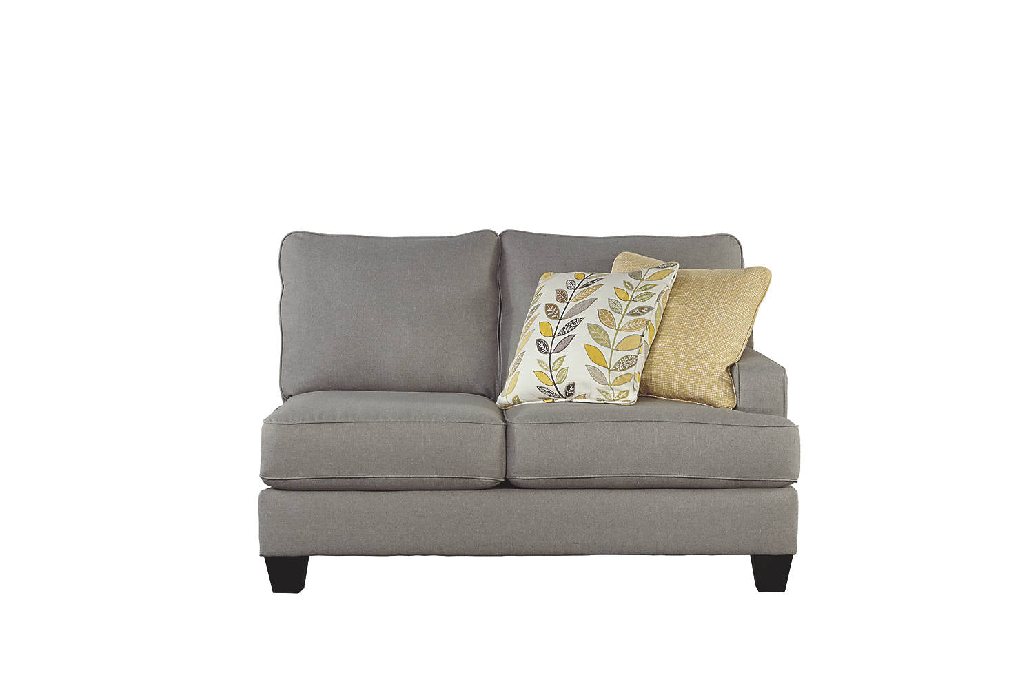 Signature Design Chamberly Fabric Solid Contemporary RAF Loveseat