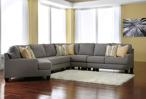 Signature Design Chamberly Fabric Solid Contemporary LAF Cuddler