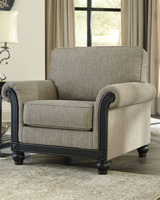 Signature Design Blackwood Fabric Solid Traditional Chair