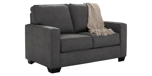 Zeb Fabric Solid Contemporary Twin Sofa Sleeper