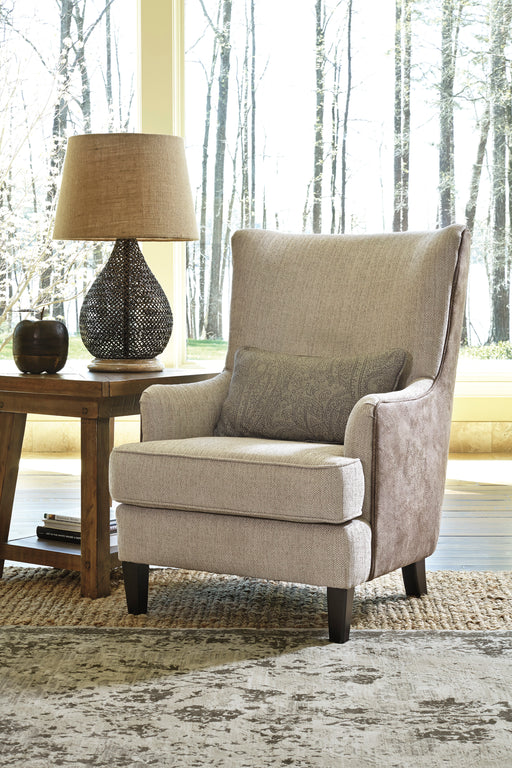 Millennium Baxley Fabric Solid Casual Accent Chair