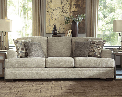 Barrish Fabric Solid Traditional Queen Sofa Sleeper