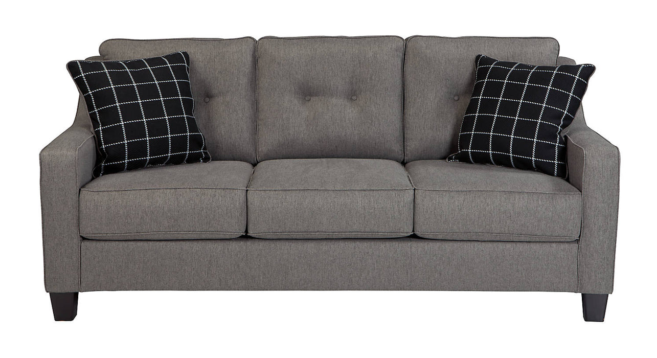 Brindon Fabric Solid Contemporary Sofa