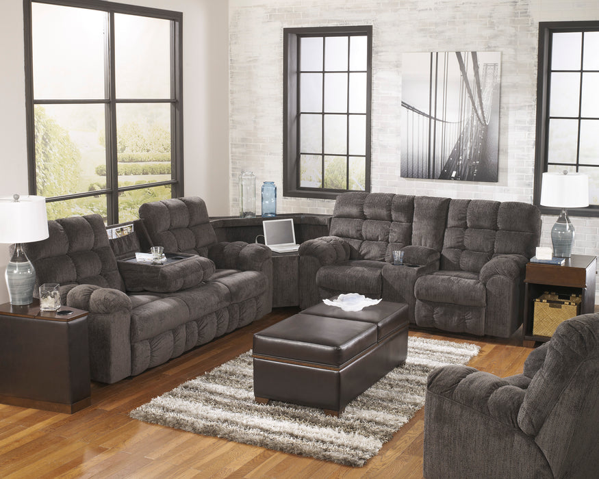 Signature Design Acieona Fabric Solid 3-Piece Sectional
