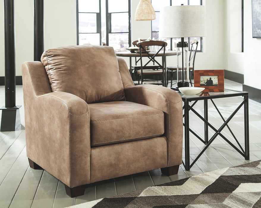Benchcraft Alturo Fabric Solid Contemporary Chair
