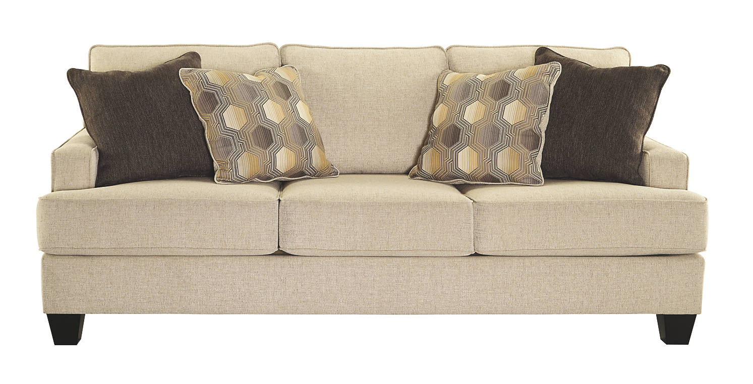 Benchcraft Brielyn Queen Fabric Solid Casual Sofa Sleeper