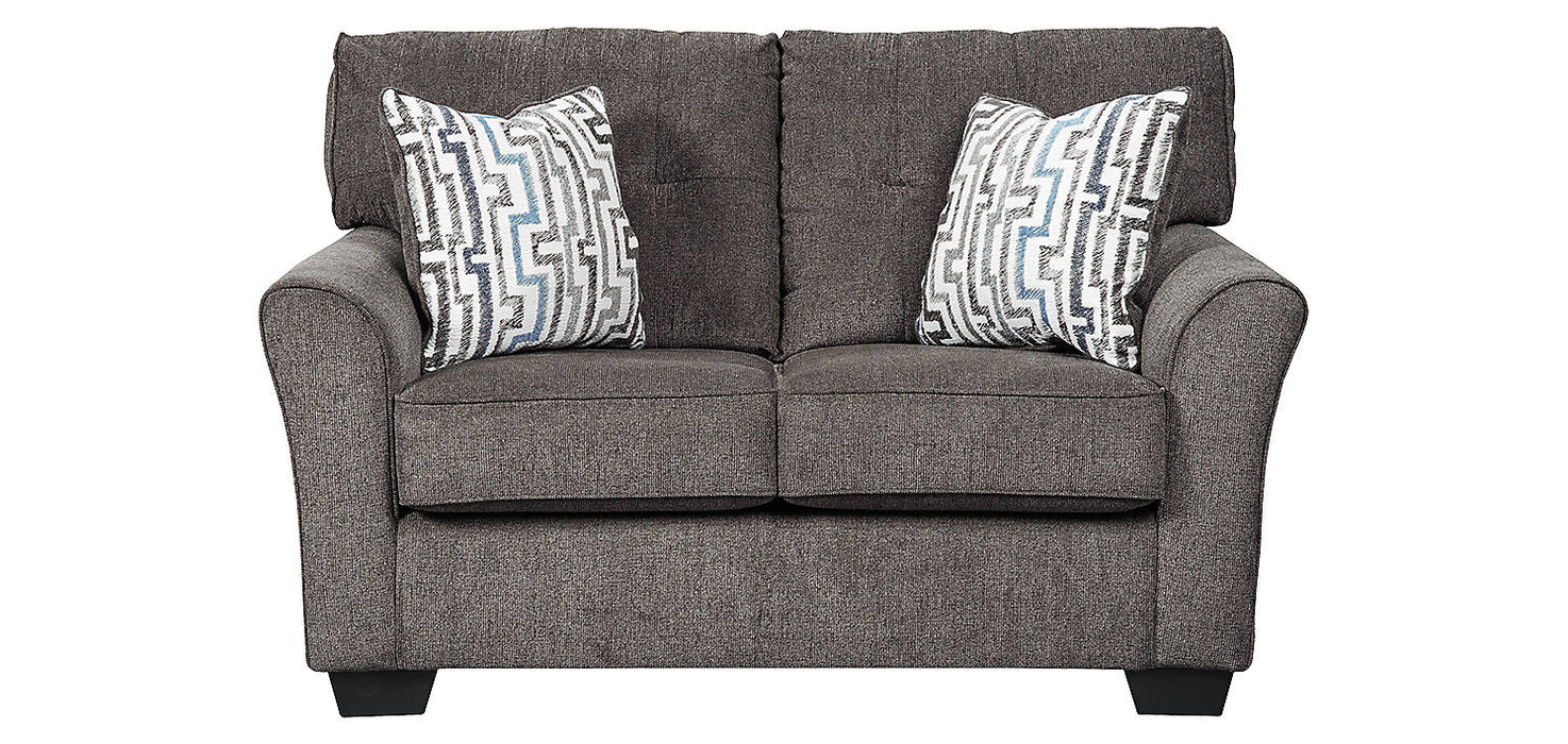 Benchcraft Alsen Fabric Solid Contemporary Loveseat