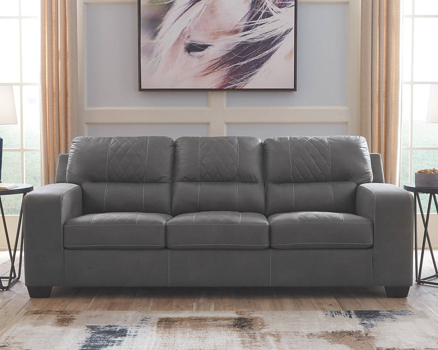 Benchcraft Narzole Queen Fabric Solid contemporary Sofa Sleeper