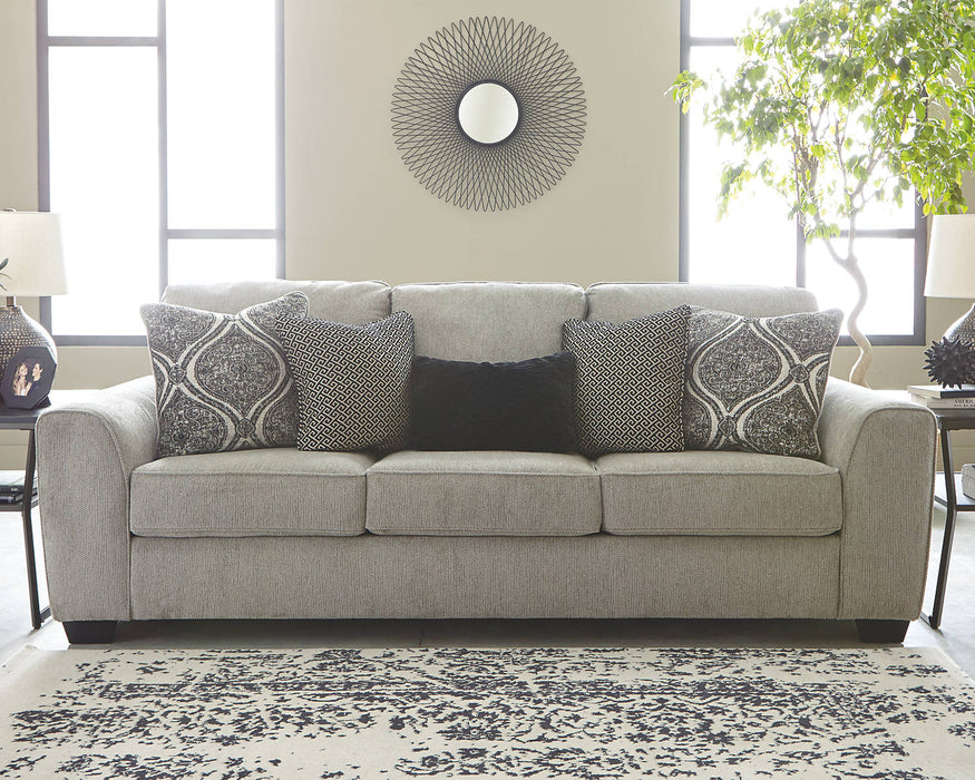 Benchcraft Parlston Fabric Solid Casual Sofa