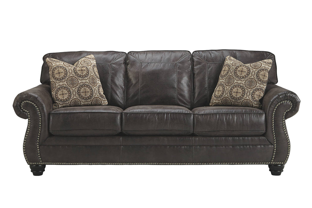 Benchcraft Breville Queen weathered faux wood Casual Sofa Sleeper