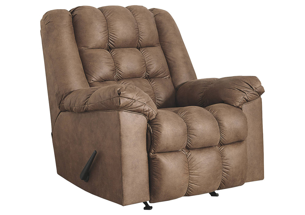 Signature Design Adrano Fabric Solid Contemporary Rocker Recliner