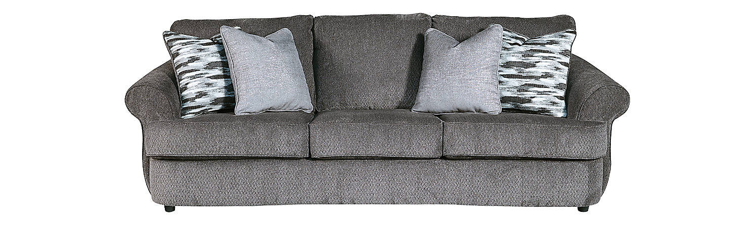 Benchcraft Allouette Fabric Solid Casual Sofa
