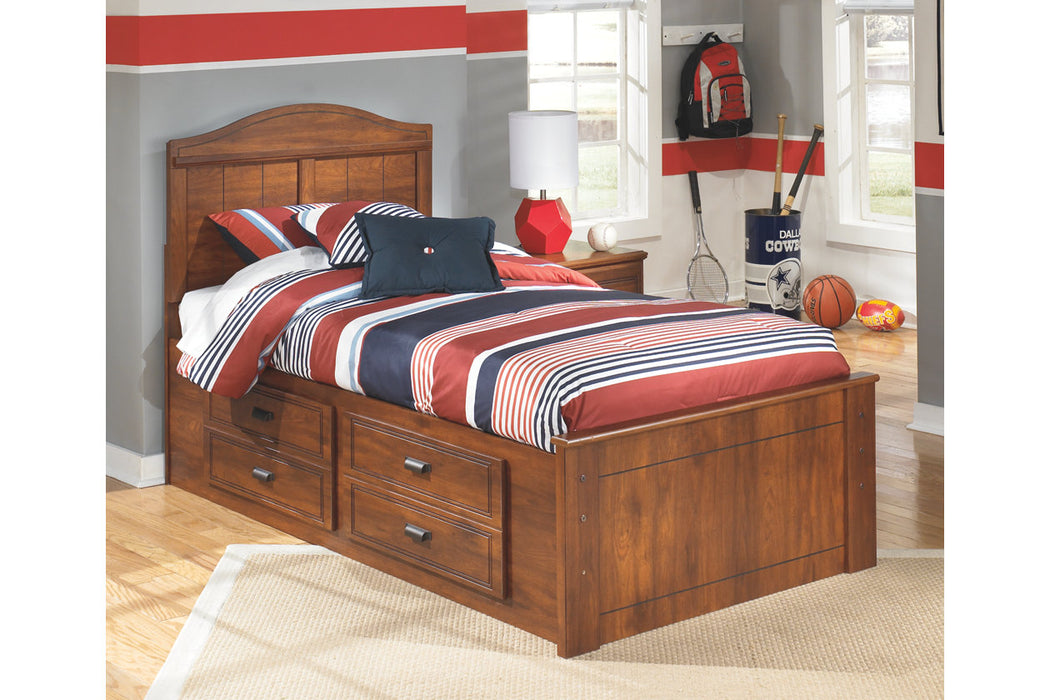 Signature Design Barchan Wood Casual Twin Panel Bed