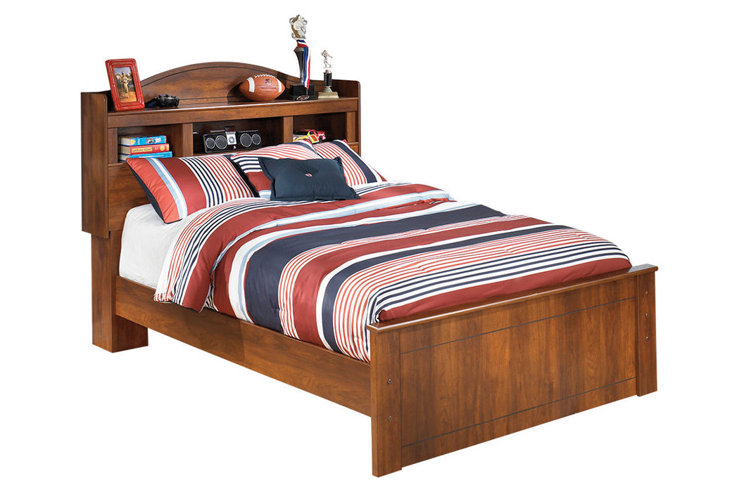 Signature Design Barchan Wood Casual Full Bookcase Bed