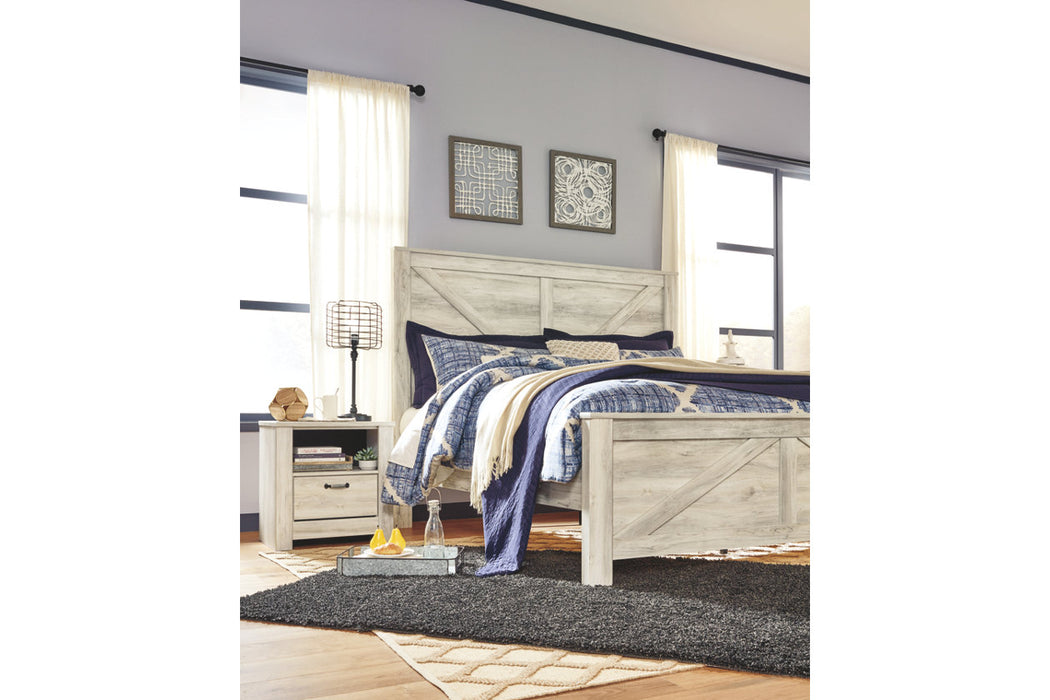 Signature Design Bellaby Wood Casual King Panel Bed
