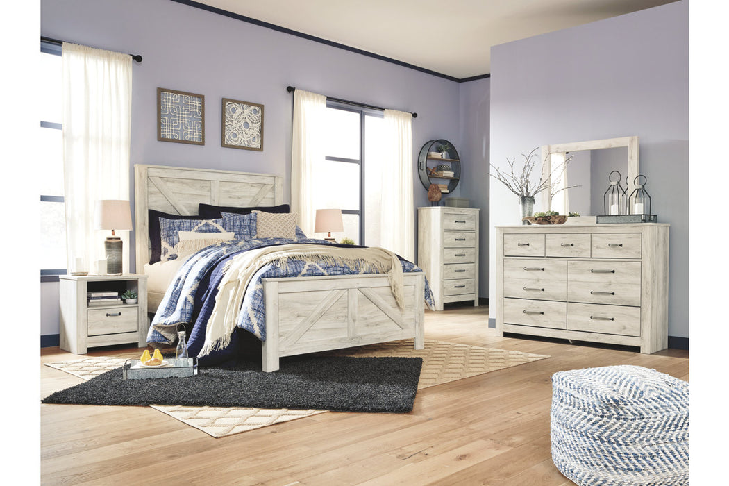 Signature Design Bellaby Wood Casual Queen Panel Bed