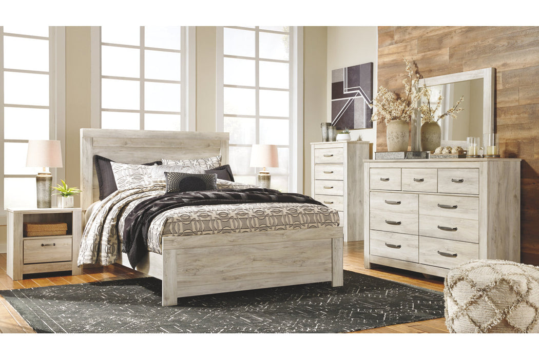 Signature Design Bellaby Ii Wood Casual Queen Panel Bed