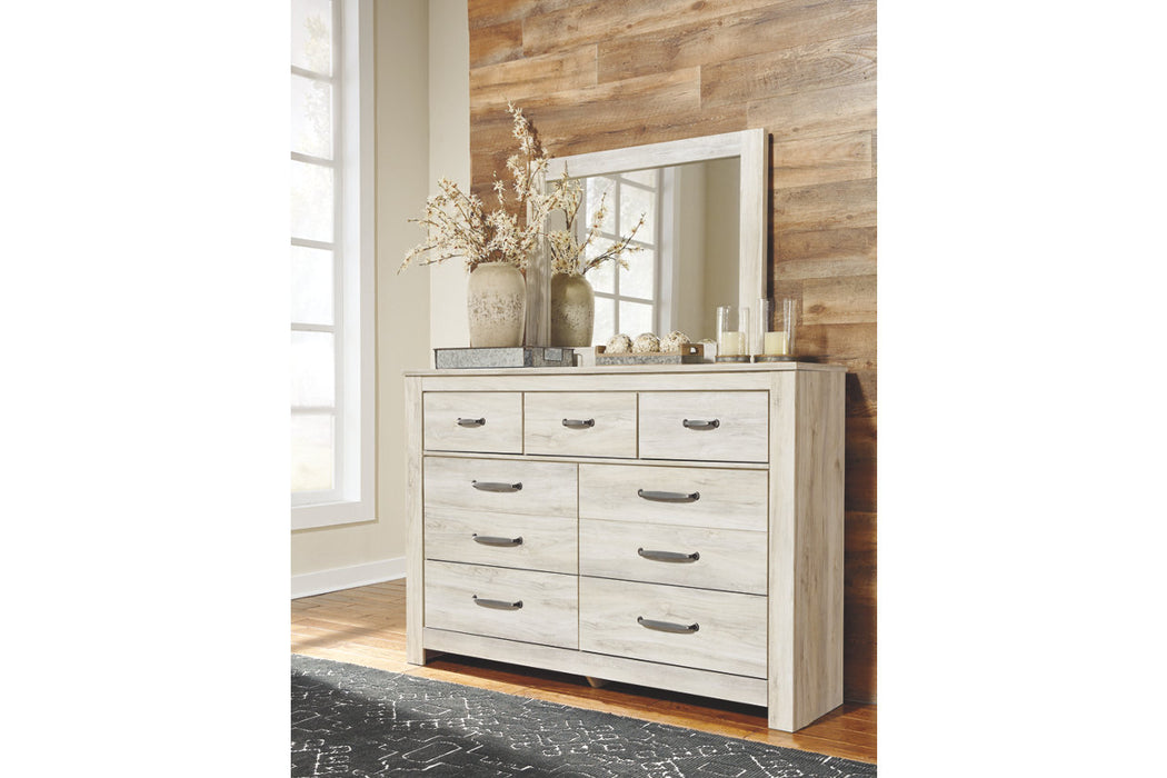 Signature Design Bellaby Wood Casual Dresser and Mirror