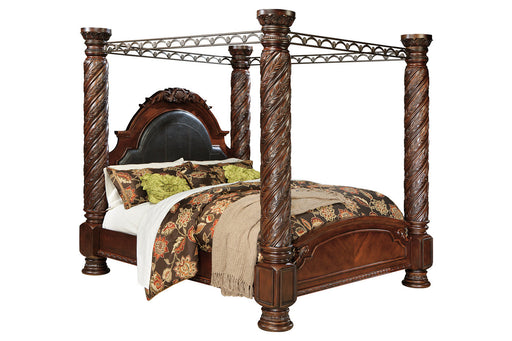 Millennium North Shore Wood Traditional Poster Bed With Canopy