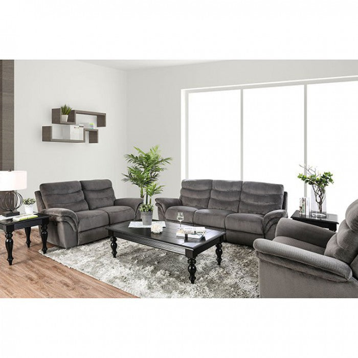 Hamlin Gray Transitional Sofa