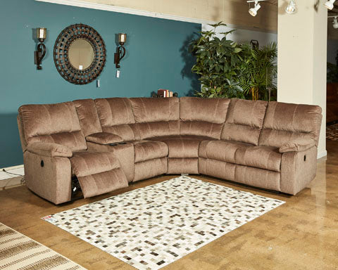 URBINO 3-PIECE LAF RECLINING SECTIONAL