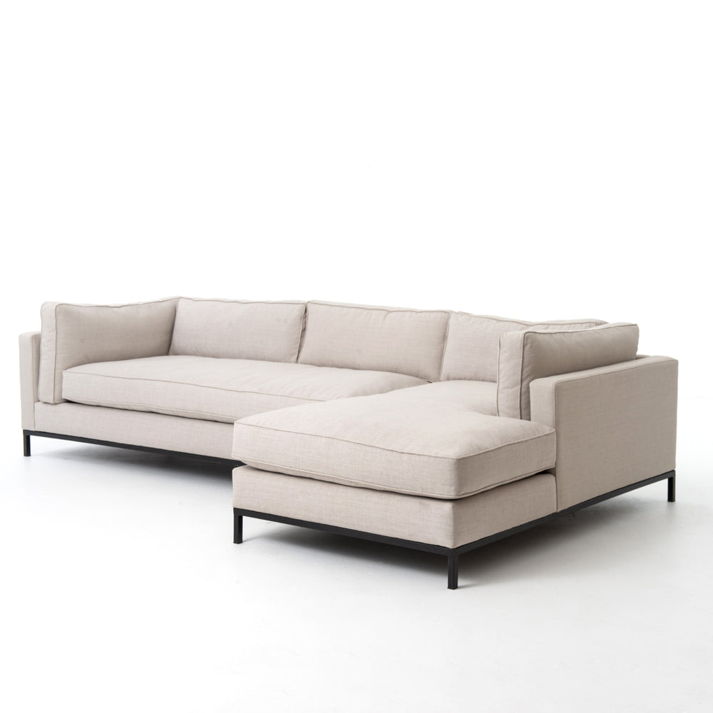 Atelier Collection Grammercy 2 Pc Sectional with Raf Chaise