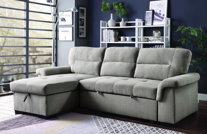 Anabel Linen Contemporary Sleeper Sofa Sectional