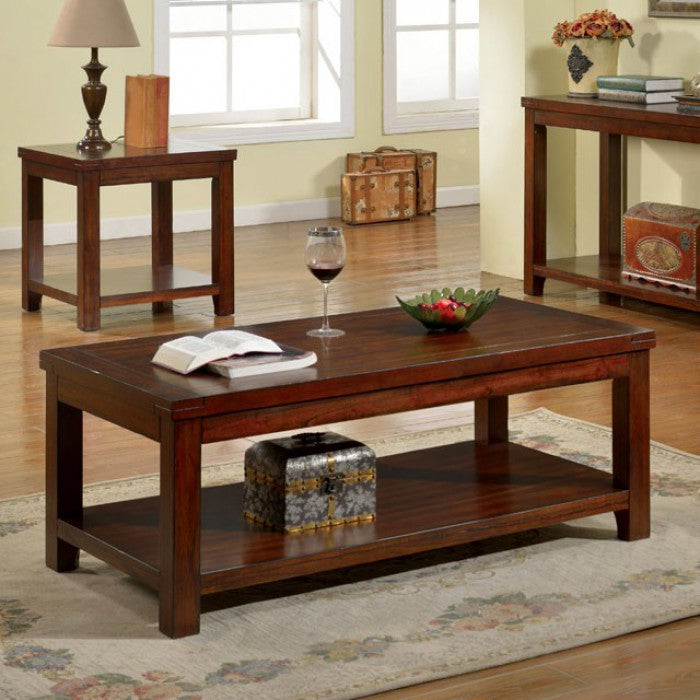 Cherry Coffee Table.Estell Solid Wood Coffee Table
