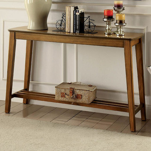 Hattie Medium Oak Transitional Sofa Table