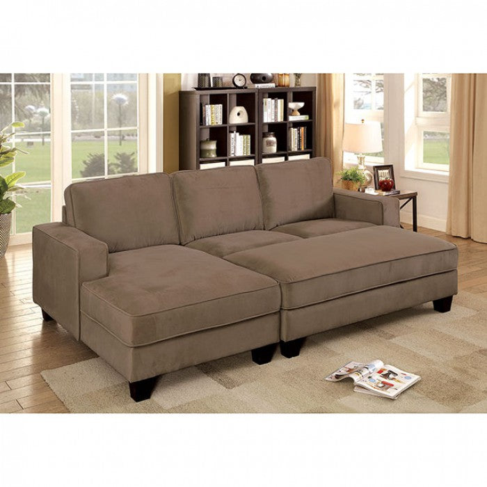 Jancis Brown Transitional Flannelette Fabric Sectional