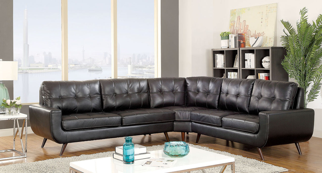 Prime Kate Ii Leather Sectional Onthecornerstone Fun Painted Chair Ideas Images Onthecornerstoneorg