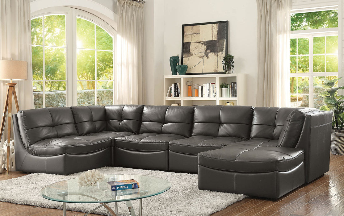 Prime Libbie Leather Sectional Ncnpc Chair Design For Home Ncnpcorg